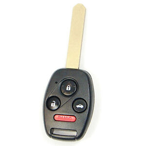New uncut honda civic si ex remote key fob keyless entry for Program honda civic key