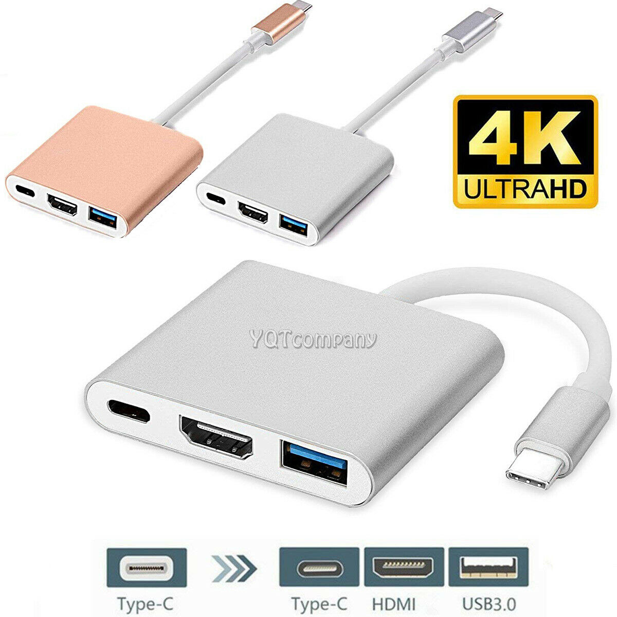 Type C 4K HDMI Charging USB-C Adapter Converter For Samsung