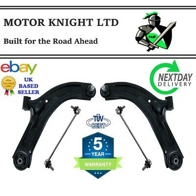 FITS NISSAN NOTE 06-14 FRONT SUSPENSION CONTROL ARMS / WISHBONES & LINKS L&R
