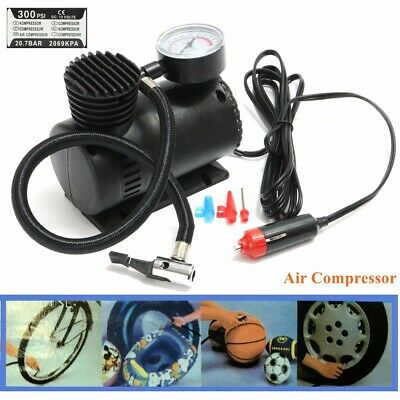 Portable 300PSI 12V Mini Air Compressor Pump Auto Car Electric Tire Air Inflator