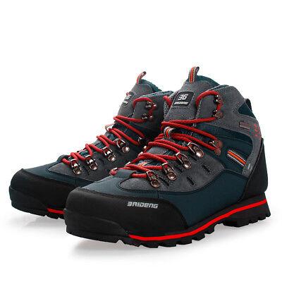 Man Skid Resistance Boots Hiking Waterproof Climbing Mountaineering Outdoor shoe