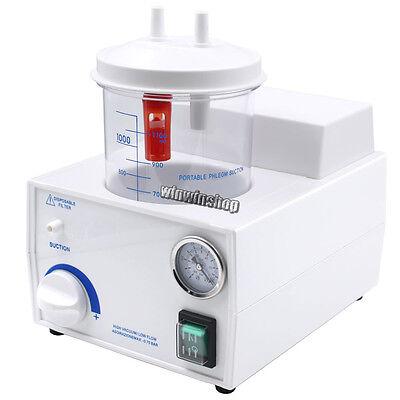 Dental Lab Emergency Vacuum Phlegm Suction Unit Electric Fda Portable 110v220v