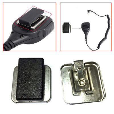 New Belt Clip For Motorola Replacement Microphone Clip PMMN4013A 4013 4051 4025