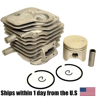 Partner Husqvarna Cylinder Head Piston Kit Rings Pin Clips 50mm K650 K700