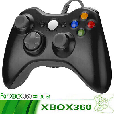 Wired USB Game Controller Joystick for Microsoft Xbox 360 & PC Windows XP 7 8 10