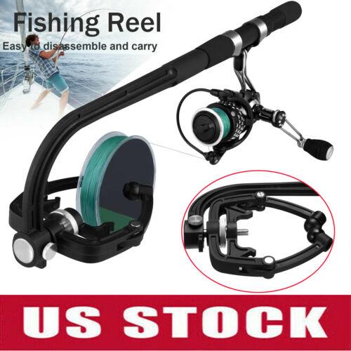 Fishing Reel Line Spooler Winder Machine Station System Spinning Casting Lines U