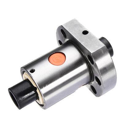 16mm Ballscrew Nut Flange Type Seat Bearing Steel For Rm1605 Sfu1605 Ball Screw