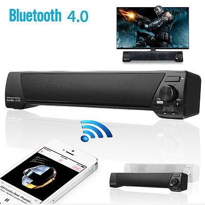 Home Theater Sound Bar Bluetooth Wireless Subwoofer Soundbar Speaker System AUX