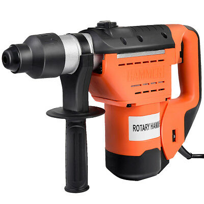 "1-1/2"" SDS Electric Rotary Hammer Drill Plus Demolition Bits Variable Speed New"