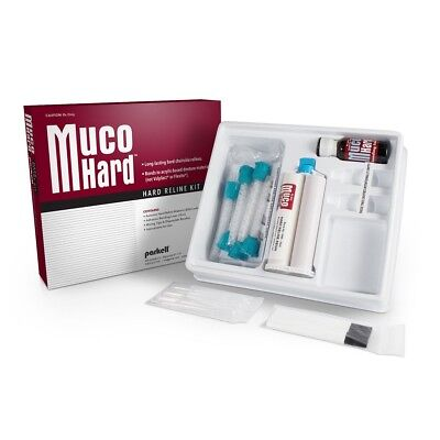 Mucohard Hard Denture Reline Kit By Parkell - Made In Usa New