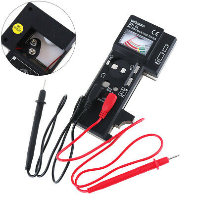 BT6A Quality Multi Battery Tester-Aa AAA C D 9V Cell Fuse & Bulb Checker US Ship