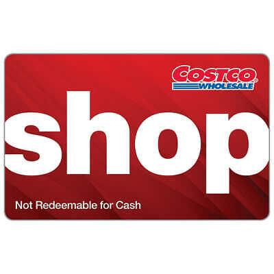 Costco Shop Card Gift Card $0 Zero Balance -- Warehouse (Warehouse Gift Cards)