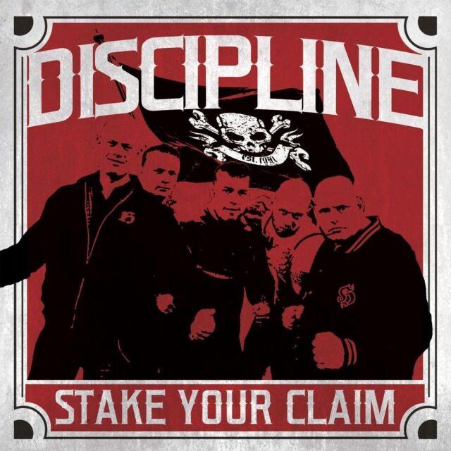 DISCIPLINE - STAKE YOUR CLAIM   CD NEU