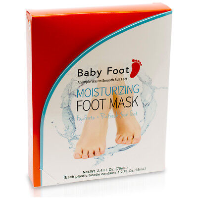 Baby Foot Moisturizing FOOT MASK Unscented 2.4 Fl. Oz | Exp: 04/2021 | Authentic