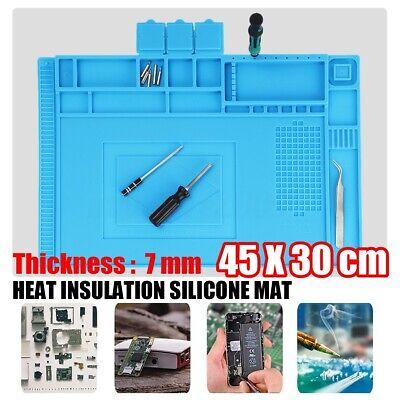 Heat Resistant Insulation Soldering Cell Phone Work Repair Platform Mat 45x30cm