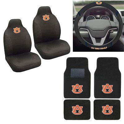 Auburn Tigers Cover (New NCAA Auburn Tigers Car Truck Seat Covers Floor Mats Steering Wheel Cover)
