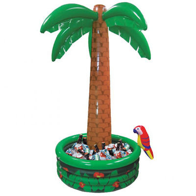 Inflatable Blow up tall Palm Tree Drinks Cooler Beer Chiller Hawaiian Party