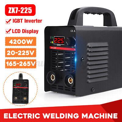 Portable 225a Dc Inverter Digital Stick Kit Welder Electric Welding Machine