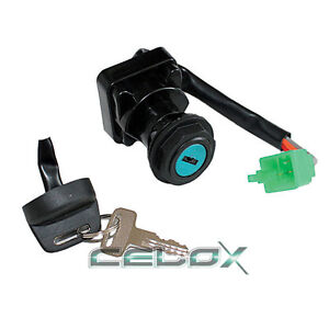 ignition switch key for arctic cat 300 2x4 4x4 1998 1999 2000. Black Bedroom Furniture Sets. Home Design Ideas