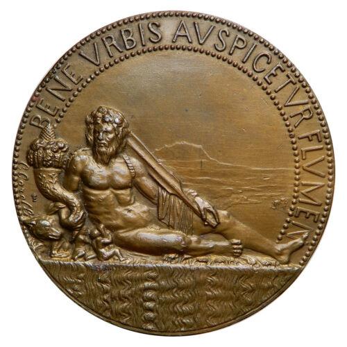 VENTENNIO FASCISTA Medaglia Medaglia anno 1927 convegno limnologia