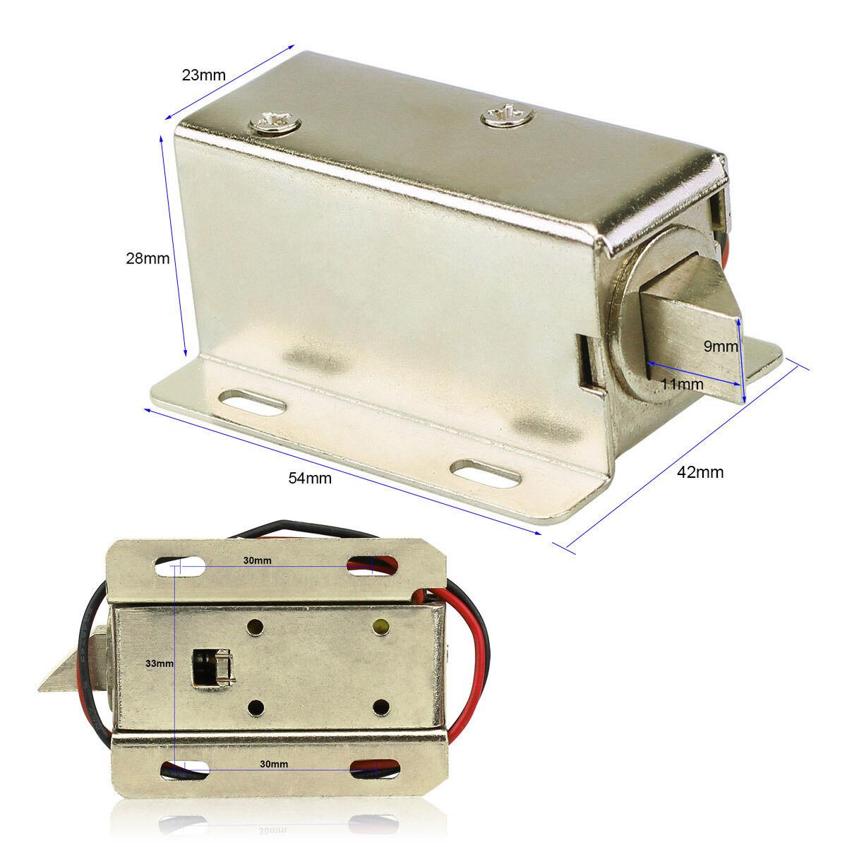 New Mini Electric Lock Door Access Control Small Bolt Cabinet Lock Home Safty Y