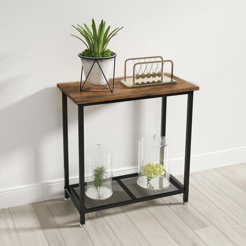 YITAHOME Sofa Side Table Console Table End Stand Table Entryway Hallway Desk