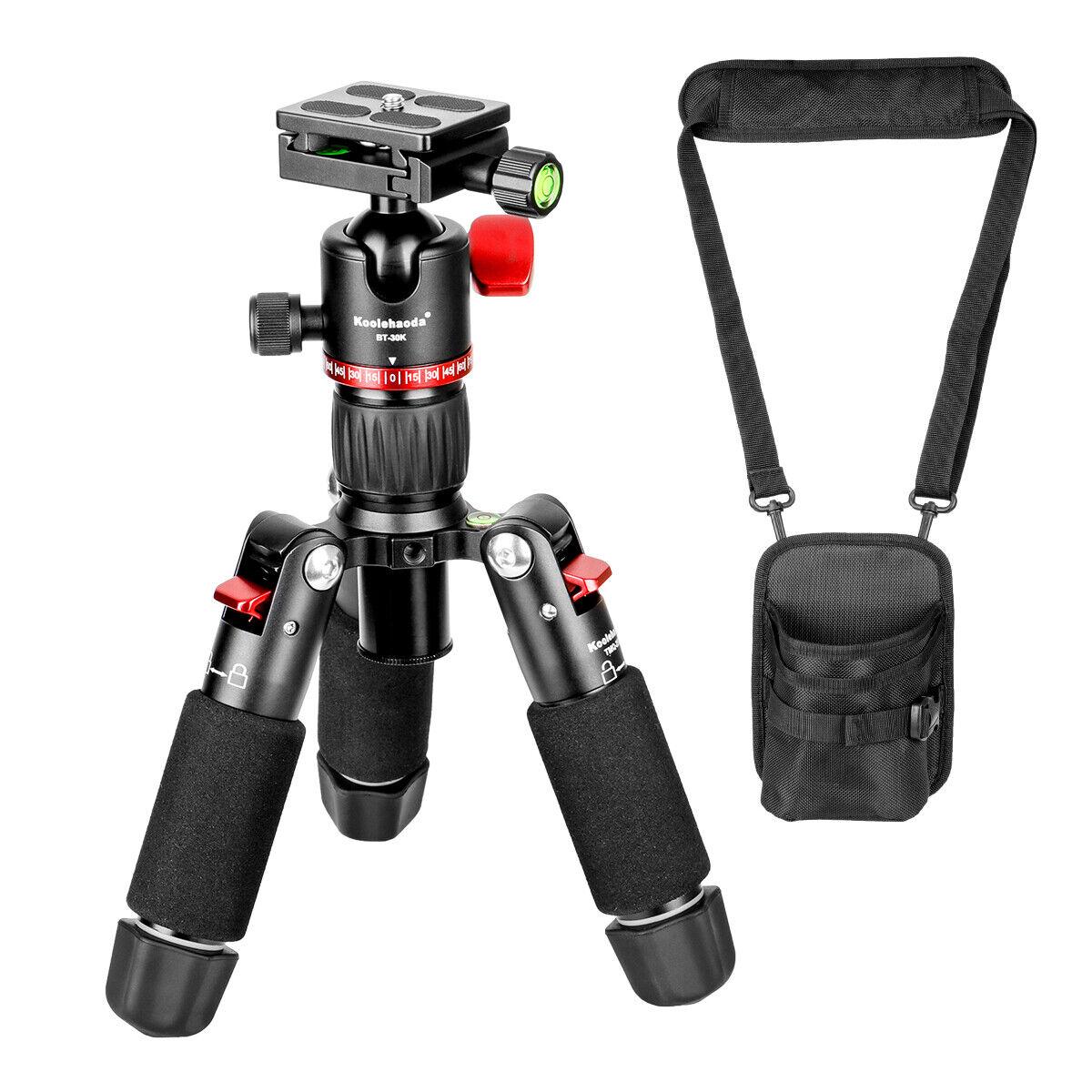18inch Mini Tripod,Tabletop Camera Tripod with 360° Ball He