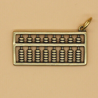 Brass Chinese Abacus Keychains Pendant Keyrings Key Chain Pendant Gift