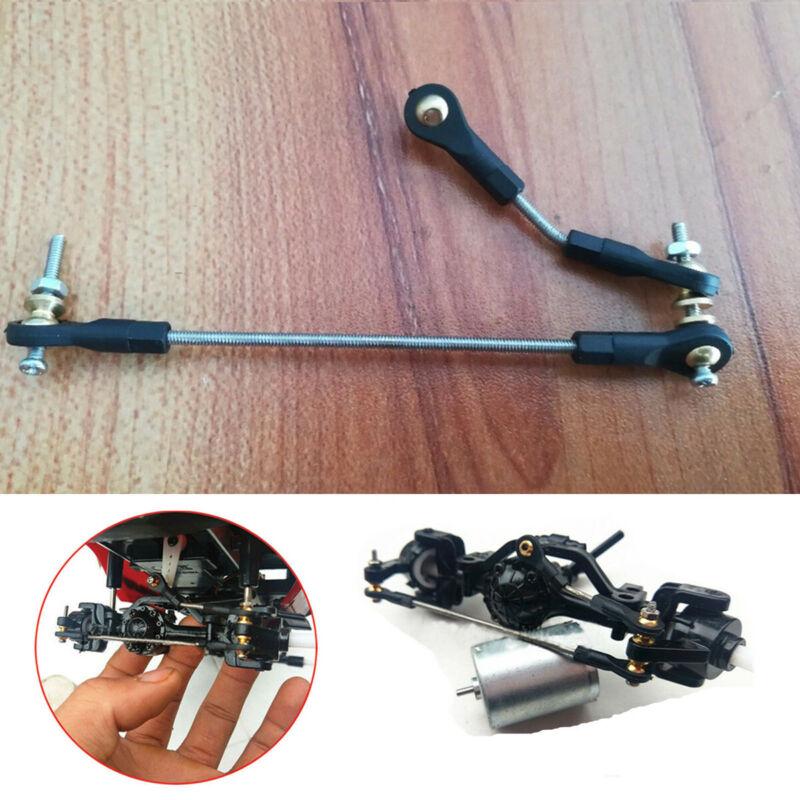Car Parts - 1 Set RC Car Steering Pull Rod Upgrade Parts For WPL B1 B14 B24 B24 C14 C24 1/16
