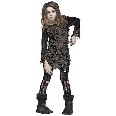 Walking Zombie Costume for Girls size 8-10 & 12-14 New by Fun World 121582](Zombie Costumes For Girls)