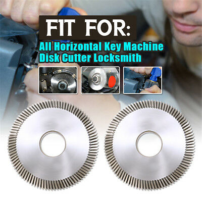 Key Cutting Disk Blade Cutter Locksmith 16x60x6mm For All Horizontal Key Machine