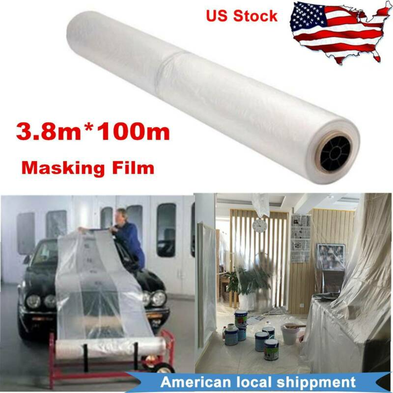 Masking film 5m x 150m clear polythene