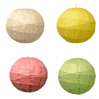 Lampions laterne lampenschirm 60cm papier große Hängeleuchtenschirme einfarbig