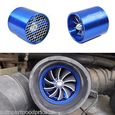 Car Air Intake Fan Supercharger Engine Enhancer Turbo Gas Fuel Vortex Kit Saver Air Inlet Fitting