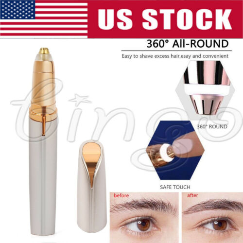 Electric Brows Remover Razor Face Eyebrow Trimmer Facial Hai