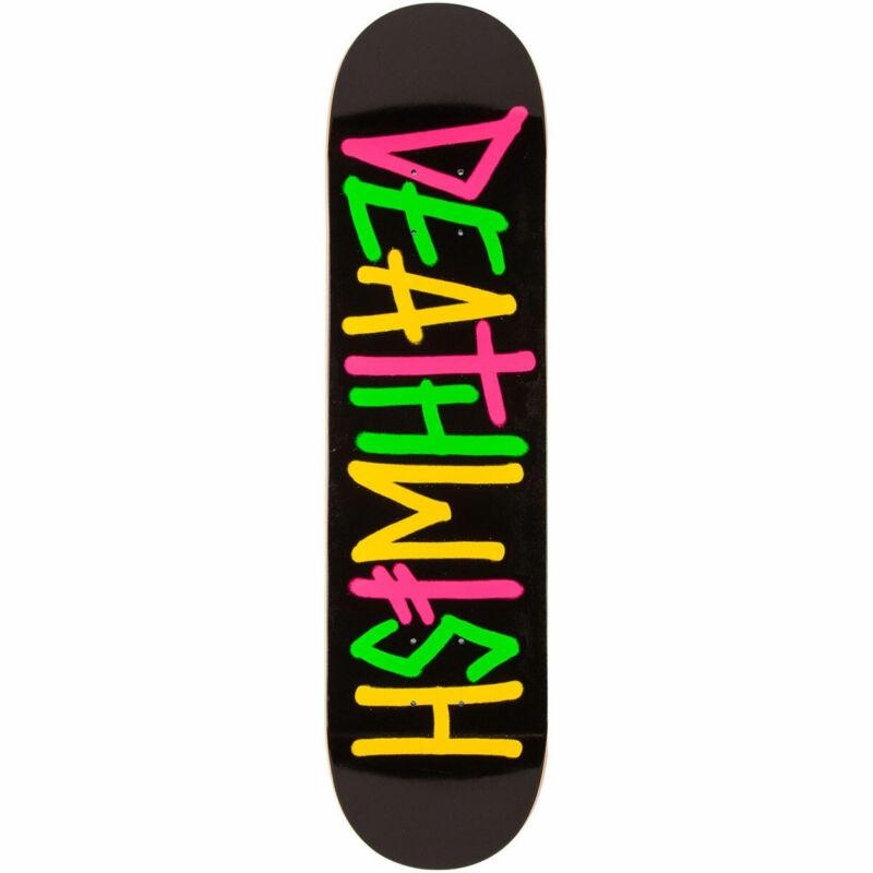 "Deathwish Skateboard Deck Deathspray Multi OG 8.5"""