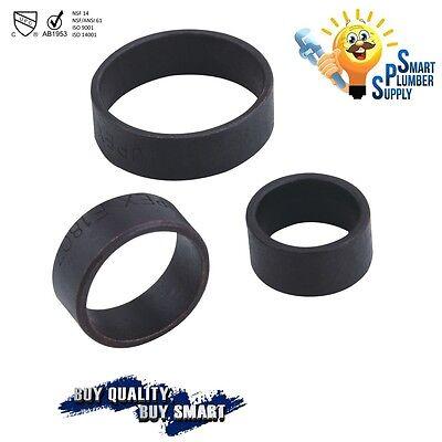 34 Copper Pex Crimp Ring Lot Of 100 Pcs Black-oxidized Surface