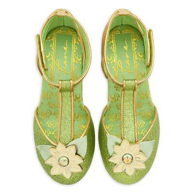 NWT Disney Store Tiana Costume Shoes 7/8,9/10,11/12,13/1,2/3 Princess (Shoes Disney)