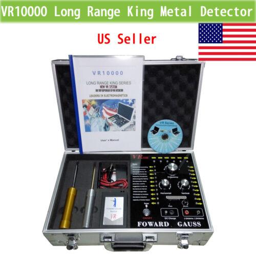 как выглядит VR10000 Long Range Underground Gold Gem Metal Detector Silver,hunter finder фото