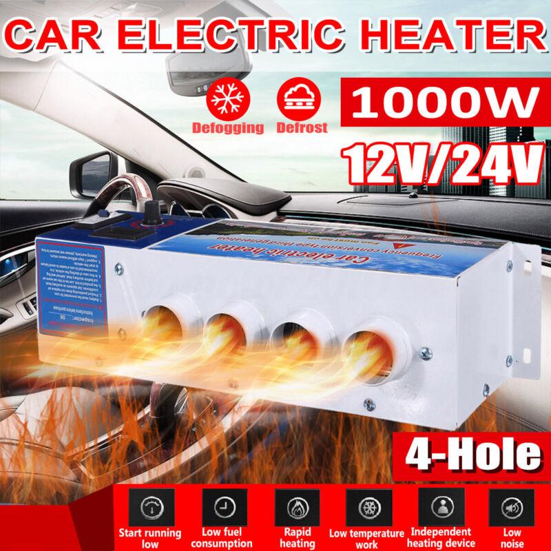 DC 12V 1000W Car Fan Heater Rapid Heating Warm Windscreen Defroster