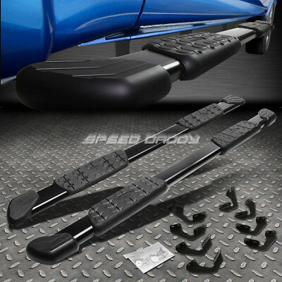 FOR 07 18 TUNDRA CREWMAX 5 MATTE BLACK OE STYLE STEP BAR NERF RUNNING BOARD