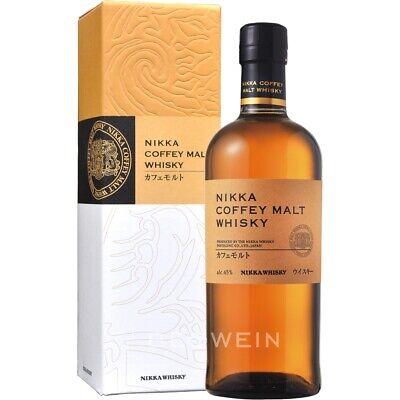 Nikka Coffey Malt 0,7 l Japanischer Single Grain Whisky