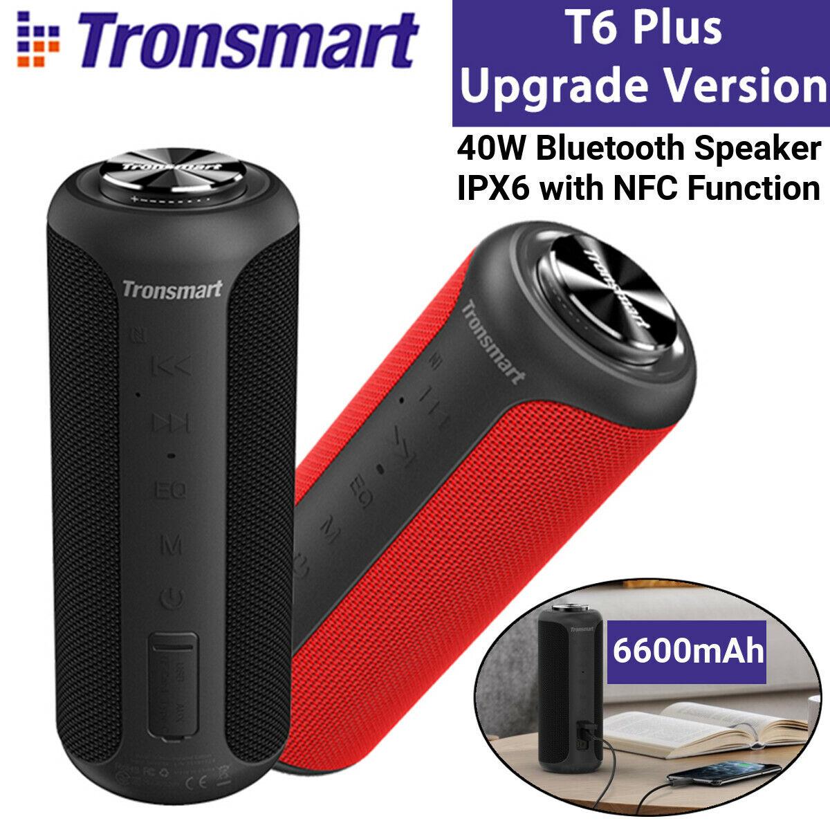Tronsmart T6 Plus Upgraded Cassa Speaker 40W, IPX6 Powerbank, Altoparlanti , NFC