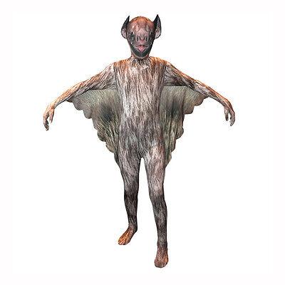 Animal Planet Vampire Bat Kids Morphsuit Child Costume US Seller KSVB