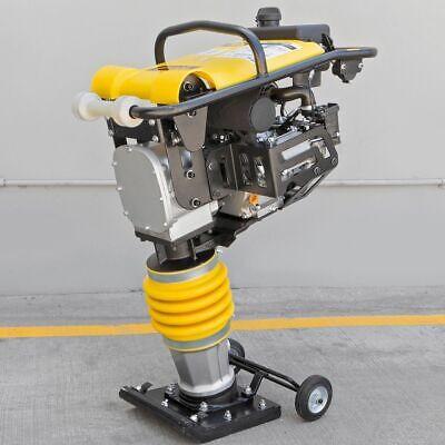 196cc 6.5hp Gas Power Soil Rammer Jumping Jack Tamper Tamping Ram Compactor