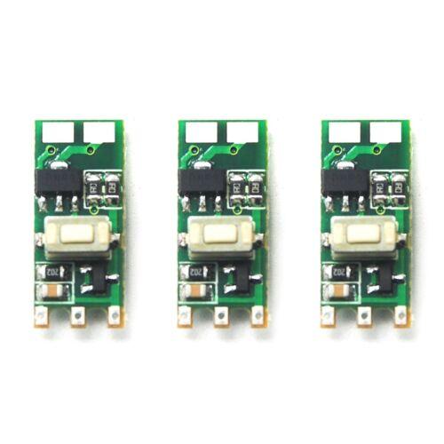 3pcs 532nm 650nm 780nm 808nm 980nm Green Red IR Laser Diode Driver Board 5V