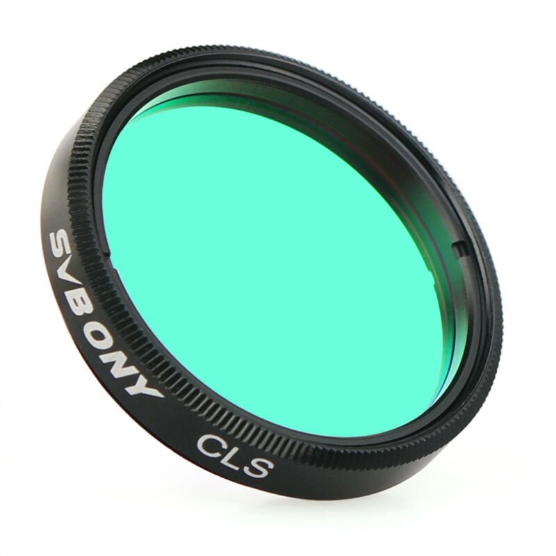 """SVBONY 1.25inch CLS Deep Sky Filters For 1.25"""" Eyepieces Cuts Light Pollution"""