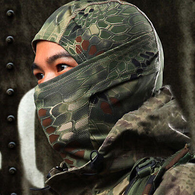 Winter Full Face Mask Tactical Cold Gear Hood Camouflage Hunting Balaclava New