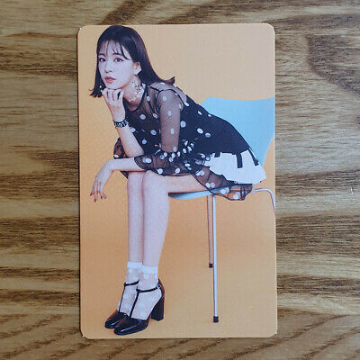 Lee Chaeyoung Official Photocard Fromis 9 1st Album Fun Factory Kihno Album