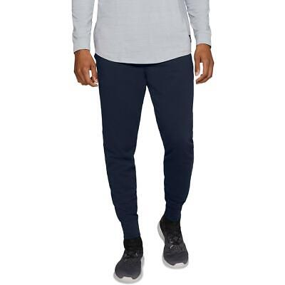 Under Armour Mens Rival Navy Jersey Fitness Running Jogger Pants L BHFO 2010